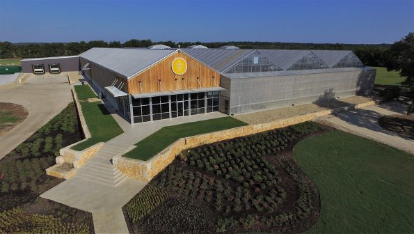 TrueHarvest Farms Headquarters and Greenhouse in Belton TX